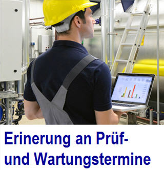 Maintenance Software-Lösung für Instandhaltung 4.0 Maintenance, Smart Maintenance