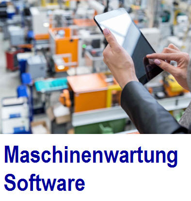Software Maschinenwartung Software für Maschinen