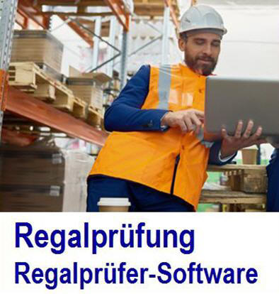 Regalinspektion app Regalinspektion APP hat die Lagerregale sicher
