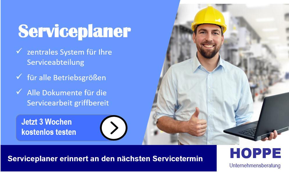 Effizienter Serviceplaner
