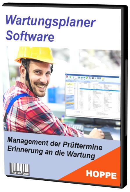 Wartungsplaner Prüfplaner Software von Hoppe