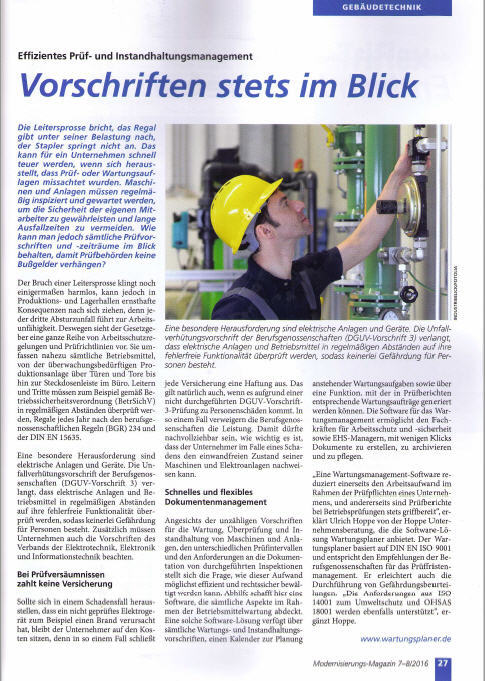 Modernisierungs-Magazin 2016-07